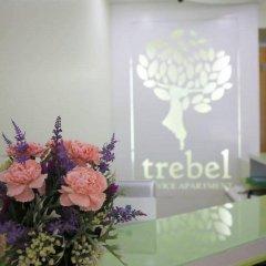 Апартаменты Trebel Service Apartment Pattaya Паттайя интерьер отеля