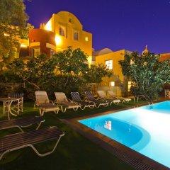 Отель Merovigla Studios Греция, Остров Санторини - отзывы, цены и фото номеров - забронировать отель Merovigla Studios онлайн бассейн фото 3