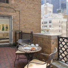 Отель The Lombardy Hotel США, Нью-Йорк - отзывы, цены и фото номеров - забронировать отель The Lombardy Hotel онлайн балкон