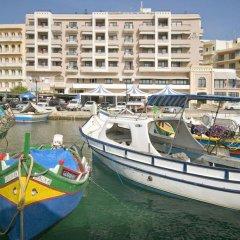 Отель Calypso Hotel Мальта, Зеббудж - отзывы, цены и фото номеров - забронировать отель Calypso Hotel онлайн приотельная территория фото 2