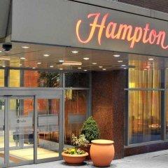Отель Hampton Inn Manhattan-Times Square North США, Нью-Йорк - 1 отзыв об отеле, цены и фото номеров - забронировать отель Hampton Inn Manhattan-Times Square North онлайн вид на фасад