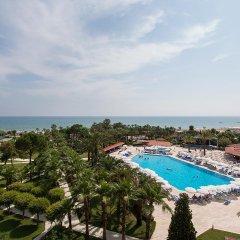 Miramare Beach Hotel Турция, Сиде - 1 отзыв об отеле, цены и фото номеров - забронировать отель Miramare Beach Hotel онлайн пляж
