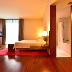 Отель Pousada De Viseu Визеу сейф в номере