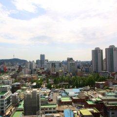 SEOUL N HOTEL Dongdaemun балкон