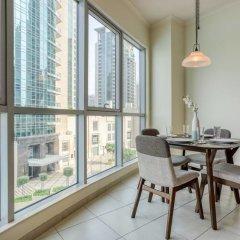 Отель Premium Apt - Full Burj Khalifa & Fountain View! Дубай балкон