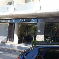 Отель Regente Aragón парковка