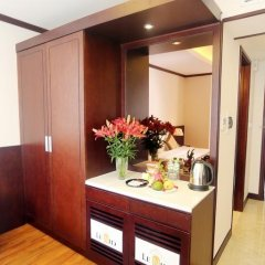 Lenid Hotel Tho Nhuom сейф в номере