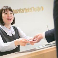 Отель Heiwadai Hotel Tenjin Япония, Фукуока - отзывы, цены и фото номеров - забронировать отель Heiwadai Hotel Tenjin онлайн интерьер отеля фото 3