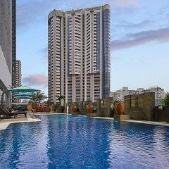 Отель Pan Pacific Xiamen бассейн фото 2