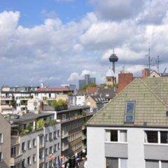 Отель Hostel die Wohngemeinschaft Германия, Кёльн - отзывы, цены и фото номеров - забронировать отель Hostel die Wohngemeinschaft онлайн балкон