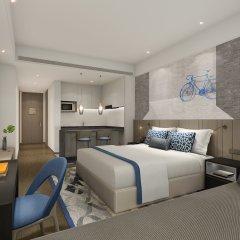 Отель Citadines Gaoxin Xi'an комната для гостей
