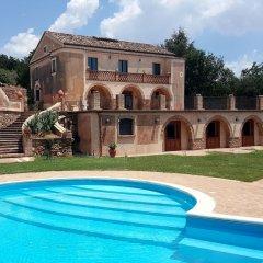 Отель Agriturismo Fonte di Maroglio Кастровиллари бассейн