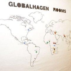 Отель Globalhagen hostel Дания, Копенгаген - отзывы, цены и фото номеров - забронировать отель Globalhagen hostel онлайн интерьер отеля фото 2