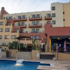 Отель Grand Hotel Madaba Иордания, Мадаба - 1 отзыв об отеле, цены и фото номеров - забронировать отель Grand Hotel Madaba онлайн бассейн фото 2