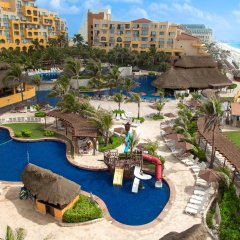 Отель Fiesta Americana Condesa Cancun - Все включено Мексика, Канкун - отзывы, цены и фото номеров - забронировать отель Fiesta Americana Condesa Cancun - Все включено онлайн пляж фото 2