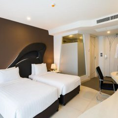 Отель Blue Boat Design Hotel Таиланд, Паттайя - отзывы, цены и фото номеров - забронировать отель Blue Boat Design Hotel онлайн комната для гостей фото 5
