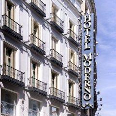 Отель Moderno Испания, Мадрид - 8 отзывов об отеле, цены и фото номеров - забронировать отель Moderno онлайн вид на фасад