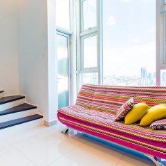 Отель KL Guesthouse Scott Garden Малайзия, Куала-Лумпур - отзывы, цены и фото номеров - забронировать отель KL Guesthouse Scott Garden онлайн балкон