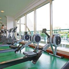 Al Raha Beach Hotel Villas фитнесс-зал фото 2