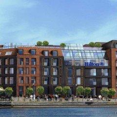 Отель Hilton Gdansk Польша, Гданьск - 6 отзывов об отеле, цены и фото номеров - забронировать отель Hilton Gdansk онлайн приотельная территория
