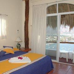 Отель Villas El Morro Сиуатанехо комната для гостей