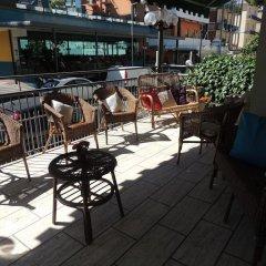 Отель Villa Derna Римини гостиничный бар