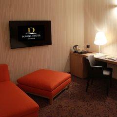 Домина Отель Новосибирск сейф в номере