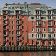 Отель Clarion Admiral Берген приотельная территория