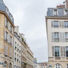Отель Latin quarter Retreat Париж вид на фасад