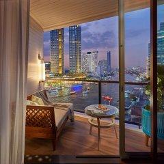 Отель Mandarin Oriental Bangkok Бангкок балкон