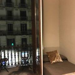Отель Pension Portbou Барселона балкон