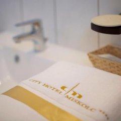 City Hotel Miskolc ванная фото 2