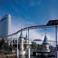 Отель Lotte World Сеул фитнесс-зал