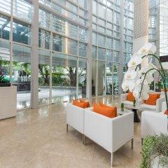 Отель Dusit Suites Hotel Ratchadamri, Bangkok Таиланд, Бангкок - 1 отзыв об отеле, цены и фото номеров - забронировать отель Dusit Suites Hotel Ratchadamri, Bangkok онлайн интерьер отеля фото 2