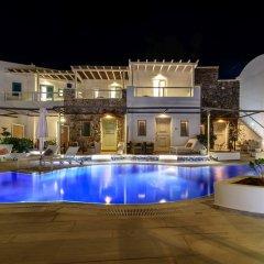 Отель La Mer Deluxe Hotel & Spa - Adults only Греция, Остров Санторини - отзывы, цены и фото номеров - забронировать отель La Mer Deluxe Hotel & Spa - Adults only онлайн бассейн фото 2