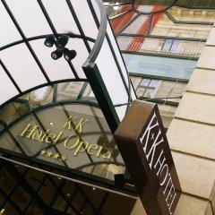 K+K Hotel Opera Budapest балкон