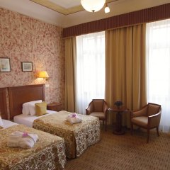 Отель Majestic Plaza Чехия, Прага - 8 отзывов об отеле, цены и фото номеров - забронировать отель Majestic Plaza онлайн комната для гостей фото 3
