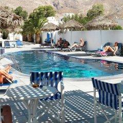 Отель Villa Valvis Греция, Остров Санторини - отзывы, цены и фото номеров - забронировать отель Villa Valvis онлайн бассейн фото 3