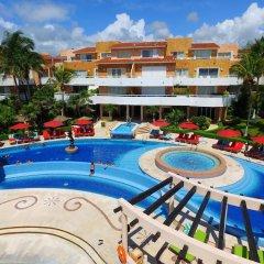 Отель Sunset Fishermen Beach Resort Плая-дель-Кармен балкон