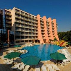 Отель Helios Spa - All Inclusive Болгария, Золотые пески - 1 отзыв об отеле, цены и фото номеров - забронировать отель Helios Spa - All Inclusive онлайн бассейн фото 3