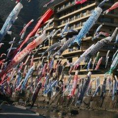Отель Tsuetate Keiryu no Yado Daishizen Япония, Минамиогуни - отзывы, цены и фото номеров - забронировать отель Tsuetate Keiryu no Yado Daishizen онлайн спортивное сооружение