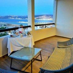 Отель Fredj Hotel and Spa Марокко, Танжер - отзывы, цены и фото номеров - забронировать отель Fredj Hotel and Spa онлайн балкон