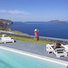 Отель Santorini Princess Presidential Suites Греция, Остров Санторини - отзывы, цены и фото номеров - забронировать отель Santorini Princess Presidential Suites онлайн пляж