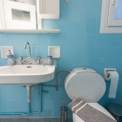 Апартаменты Comfy Apartment in Acropolis Area ванная фото 2
