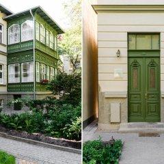 Апартаменты Sanhaus Apartments Сопот вид на фасад