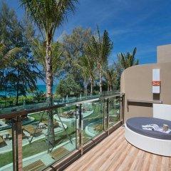 Отель Maikhao Palm Beach Resort балкон фото 3