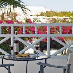 Отель Santorini Kastelli Resort Греция, Остров Санторини - отзывы, цены и фото номеров - забронировать отель Santorini Kastelli Resort онлайн балкон