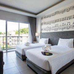 Отель The Melody Phuket 4* Улучшенный номер с различными типами кроватей фото 2