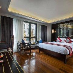 Отель Golden Lotus Hotel Вьетнам, Ханой - отзывы, цены и фото номеров - забронировать отель Golden Lotus Hotel онлайн комната для гостей фото 5