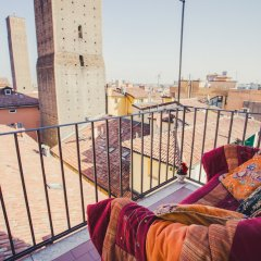 Отель B&B Casa Faccioli Италия, Болонья - отзывы, цены и фото номеров - забронировать отель B&B Casa Faccioli онлайн балкон